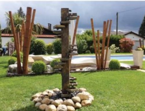 Une fontaine dans votre jardin, sur votre terrasse!