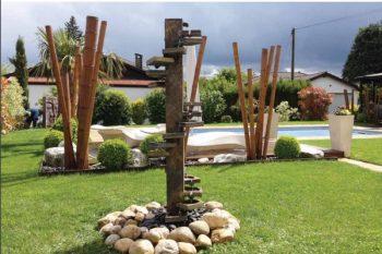 Une fontaine dans votre jardin, sur votre terrasse !