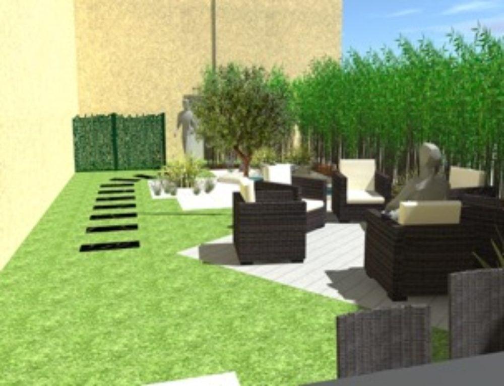 Création et aménagement de terrasse en 3d