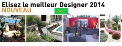 Elisez le Designer Paysagiste de l'année 2014