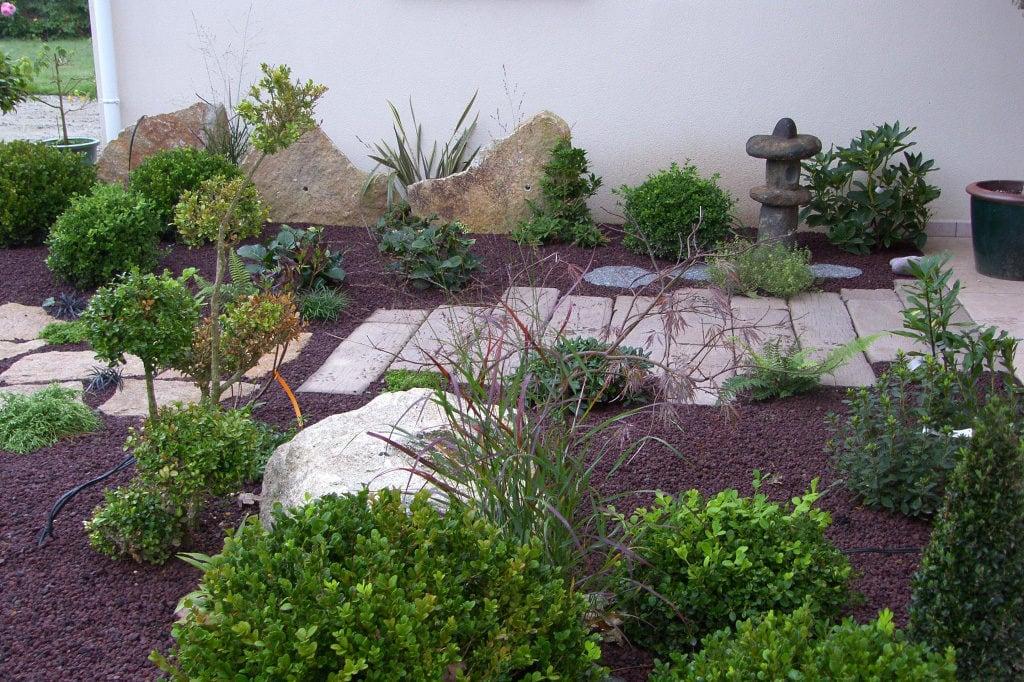 création jardin zen provençal Bouches-du-Rhône , Vaucluse, Alpes de Haute Provence