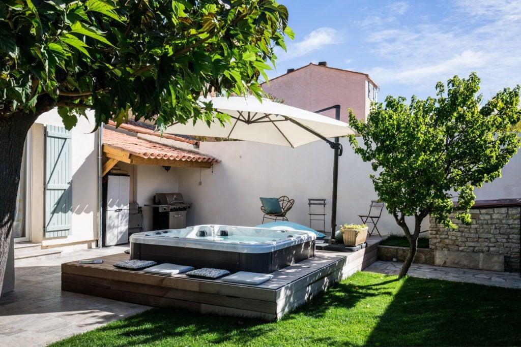 création jardin de ville Aix en Provence, Marseille, Bouches-du-Rhône, 13
