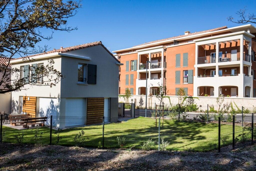 Aménagement jardin collectif Aix en Provence, Marseille, Bouches-du-Rhône, 13