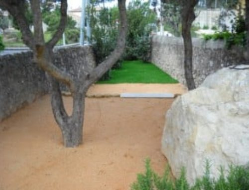 Aménagement d'un jardin à Marseille