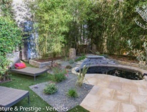 Un jardin ré-inventé en plein centre d'Aix-en-Provence