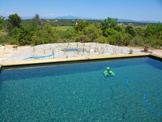 piscine naturelle est conçu selon le système Bionova