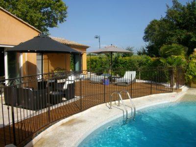 Aménagement abords piscine Puyricard