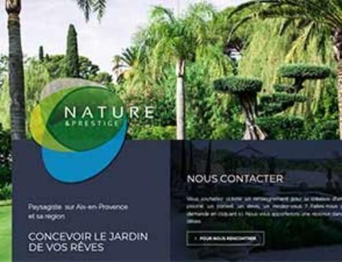 Un nouveau logo, un nouveau site internet Nature & Prestige