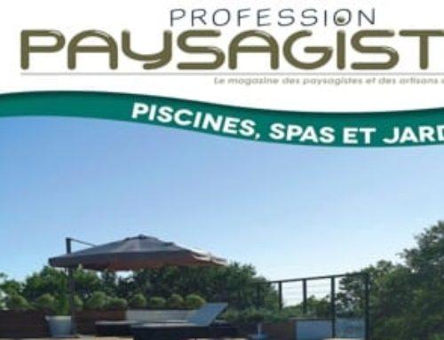Nature et Prestige mis à l'honneur par le magazine Profession Paysagiste