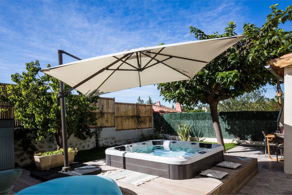 rénovation complète d'un jardin de ville à Venelles