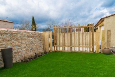 petit jardin sans entretien à Auriol 13