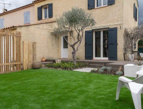 Rénovation d'un jardin de ville à Auriol – 13