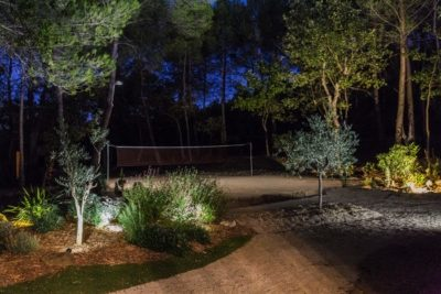 Terrain de Badminton dans son jardin