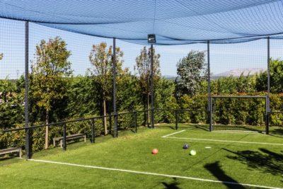 Terrain de Football - Soccer dans son jardin