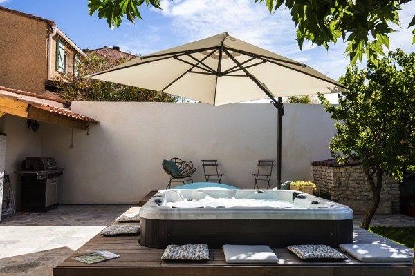 Un spa pour la détente après sa séance de sport