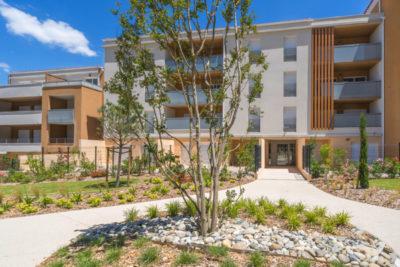 aménagement jardin collectif Penne-sur-Huveaune